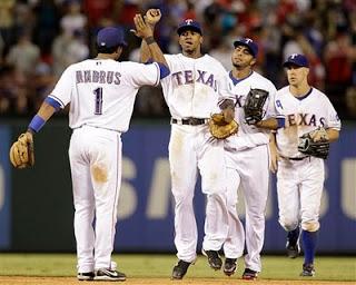Texas Rangers AL West Champions!! – CARDINAL RED BASEBALL