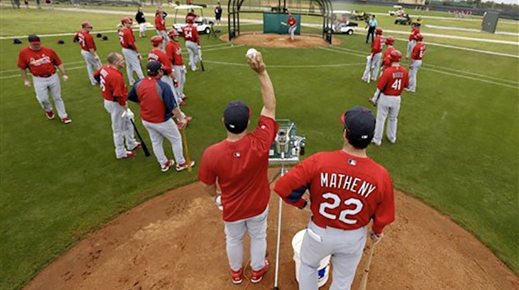 news article cardinals announce spring training broadcasts