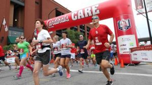 St. Louis Cardinals annual 6K run