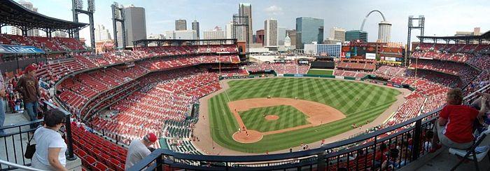 May 2015 Cardinal Red Baseball