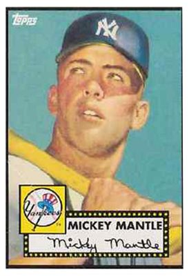 Mickey Mantles Topps Card At Highest Price Ever Cardinal