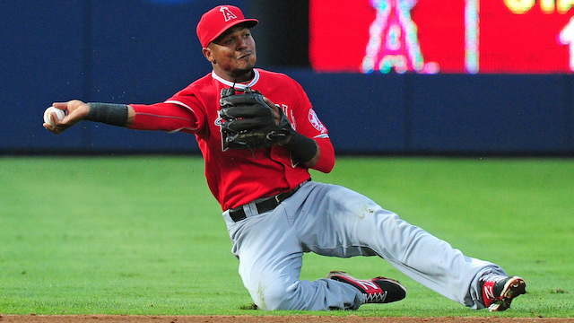 Los Angeles Angels of Anaheim v Atlanta Braves